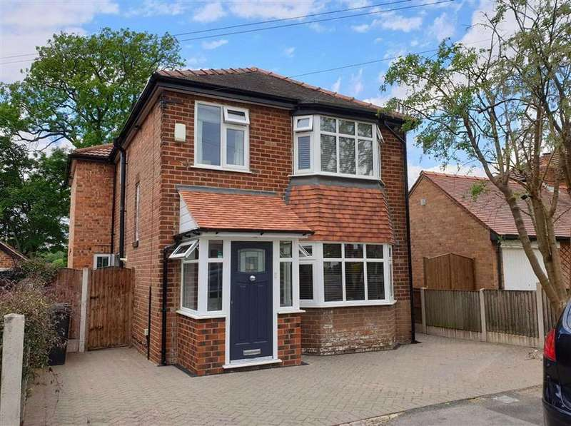 4 Bedrooms Detached House for sale in Hampson Crescent, Handforth