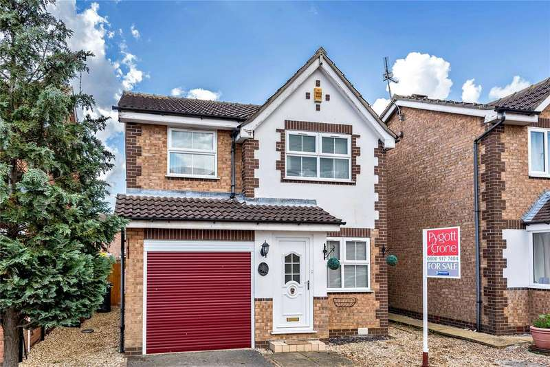 3 Bedrooms Detached House for sale in Winchester Way, Sleaford, NG34