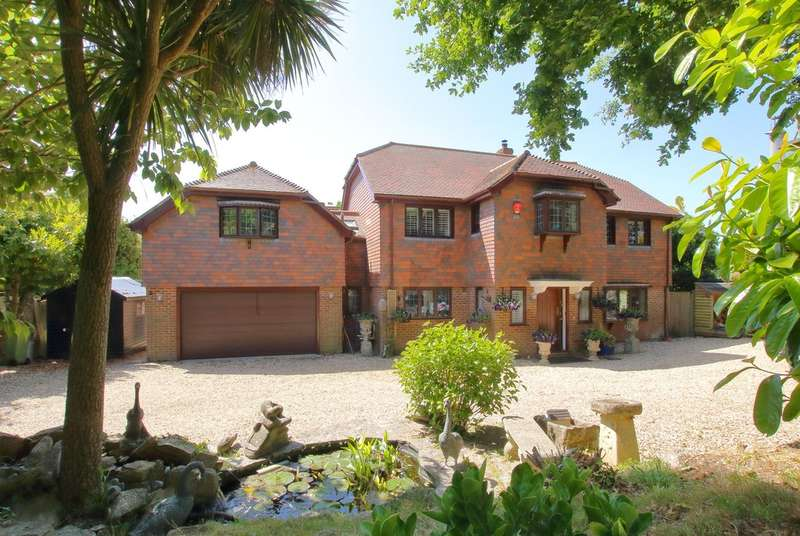 6 Bedrooms Detached House for sale in Sharvells Road, Milford On Sea, Lymington, Hampshire