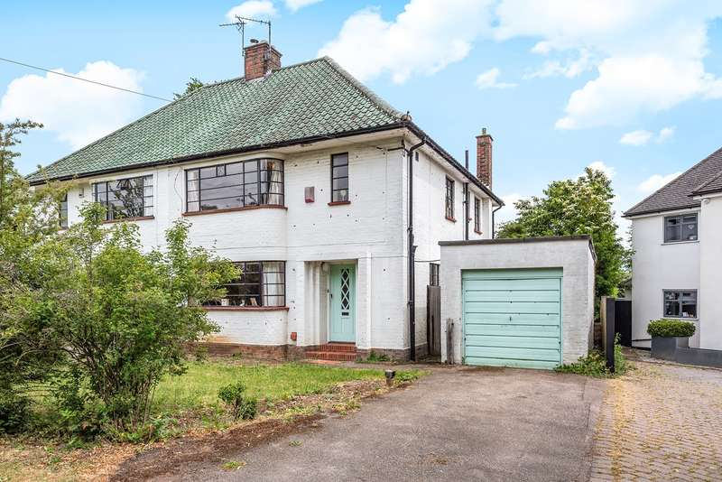 3 Bedrooms Semi Detached House for sale in The Chilterns, Hitchin, SG4
