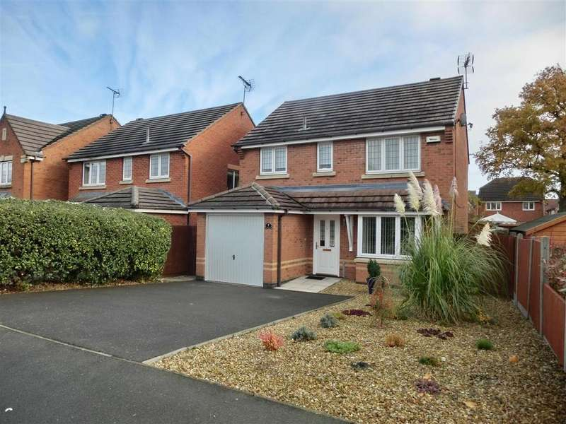 3 Bedrooms Detached House for sale in Hampton Close, Coalville, Leicestershire