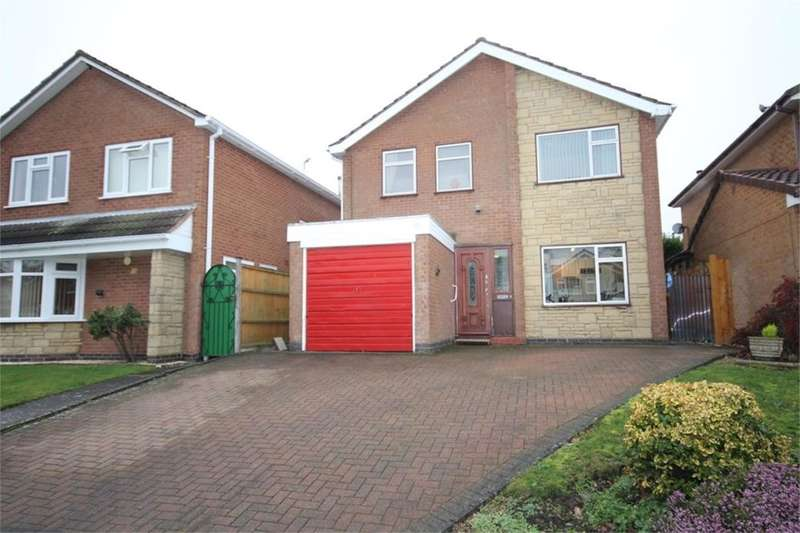 4 Bedrooms Detached House for sale in Heather Drive, Bedworth, CV12
