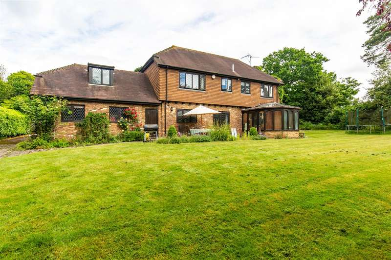 4 Bedrooms Detached House for sale in Buckham Thorns Road, Westerham