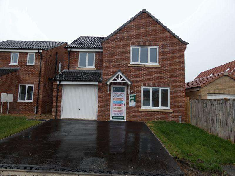 4 Bedrooms Detached House for sale in Furnace Close, North Hykeham