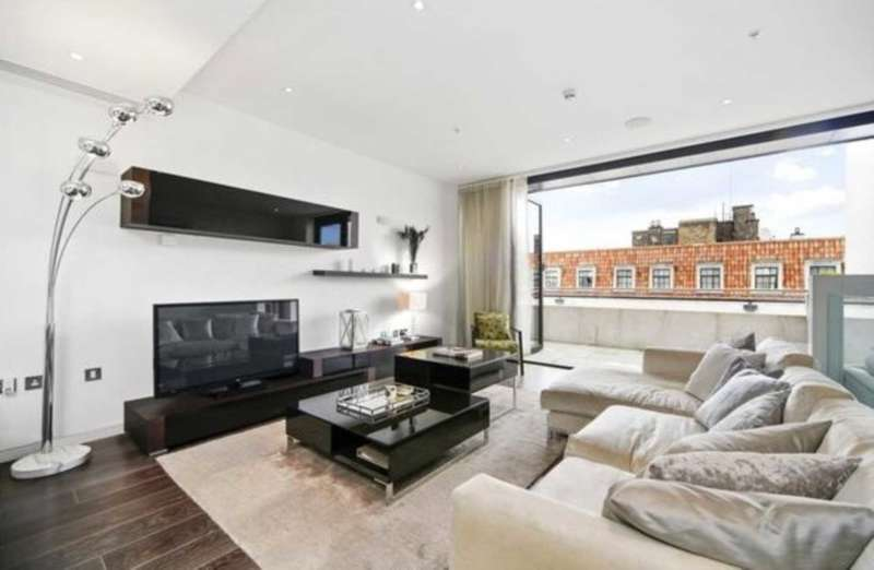 2 Bedrooms Penthouse Flat for sale in Marconi House, 335 Strand, London, WC2R