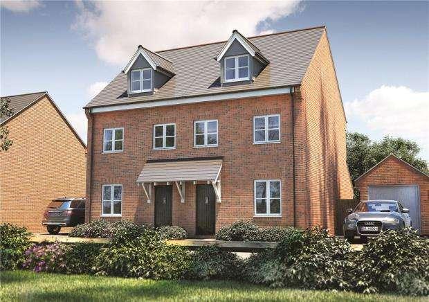 3 Bedrooms Semi Detached House for sale in Deardon Way, Shinfield, Reading