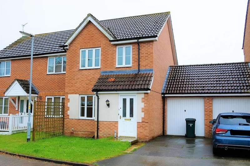 3 Bedrooms Semi Detached House for sale in Franklin Way, Spilsby, PE23 5GG