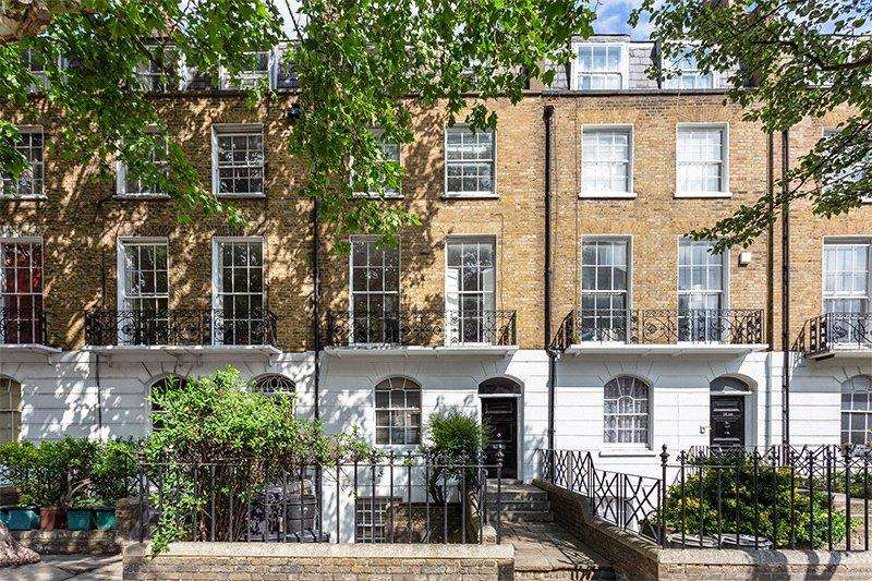 2 Bedrooms Flat for sale in Barnsbury Road, London, N1