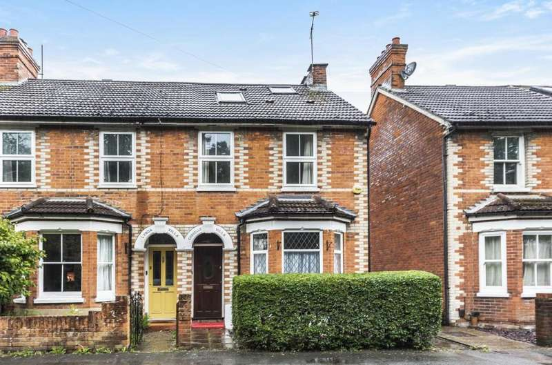 4 Bedrooms End Of Terrace House for sale in Oakley Road, Camberley, GU15