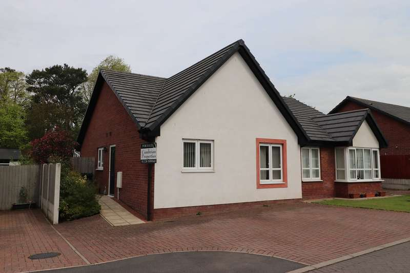 2 Bedrooms Semi Detached Bungalow for sale in Sycamore Drive, Longtown, CARLISLE, CA6