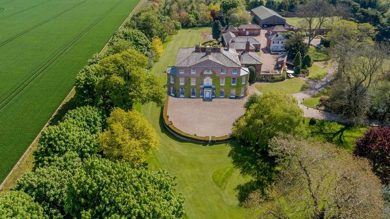 11 Bedrooms Detached House for sale in Wootton Hall, Vicarage Lane, Wootton, Ulceby, DN39