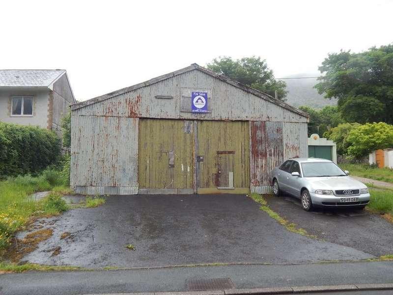 Garages Garage / Parking for sale in Garage, Bennett Street, Blaina, NP13 3HZ