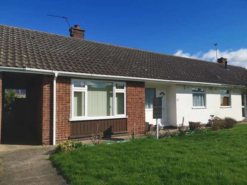 2 Bedrooms Bungalow for sale in Bladon Estate, Fishtoft, Boston, Lincolnshire, PE21 0QZ