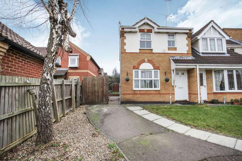 3 Bedrooms End Of Terrace House for rent in Lambourn Drive, Luton, LU2 7GQ