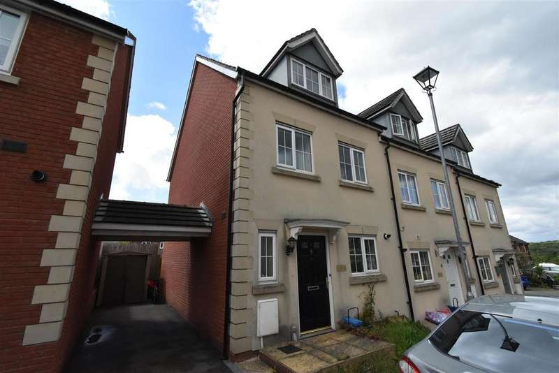 3 Bedrooms End Of Terrace House for sale in Bayfield Wood, Chepstow