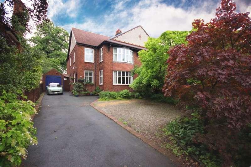4 Bedrooms Semi Detached House for sale in Wellington Road, Nantwich, CW5