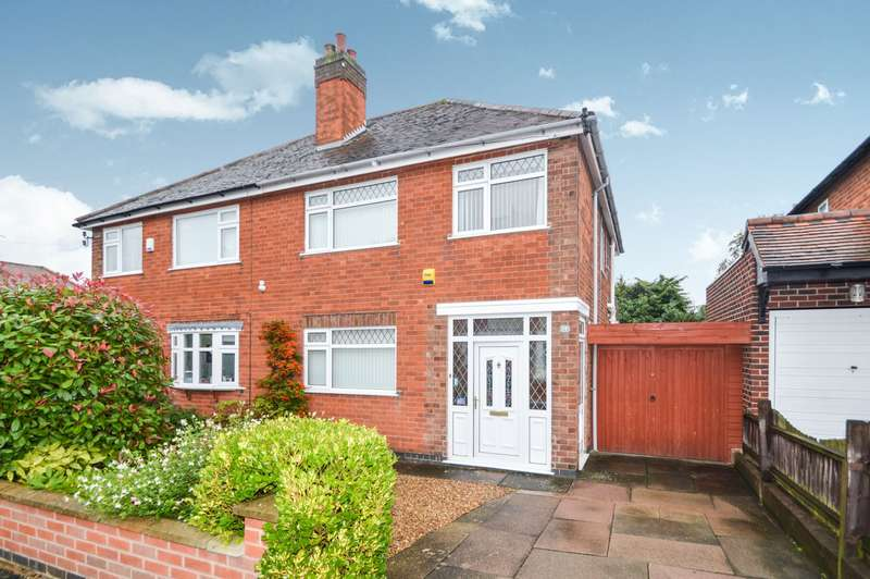 3 Bedrooms Semi Detached House for rent in Cliffwood Avenue, Birstall, Leicester