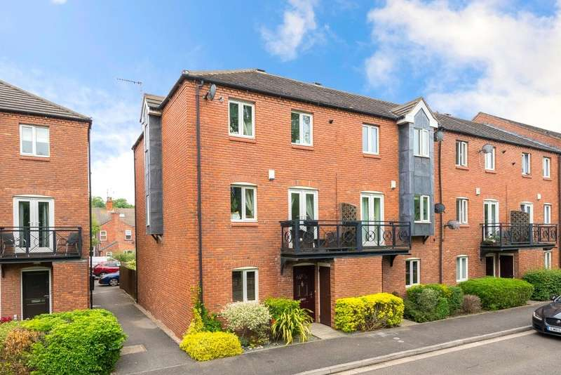 4 Bedrooms Town House for sale in Anson Close, Grantham, NG31