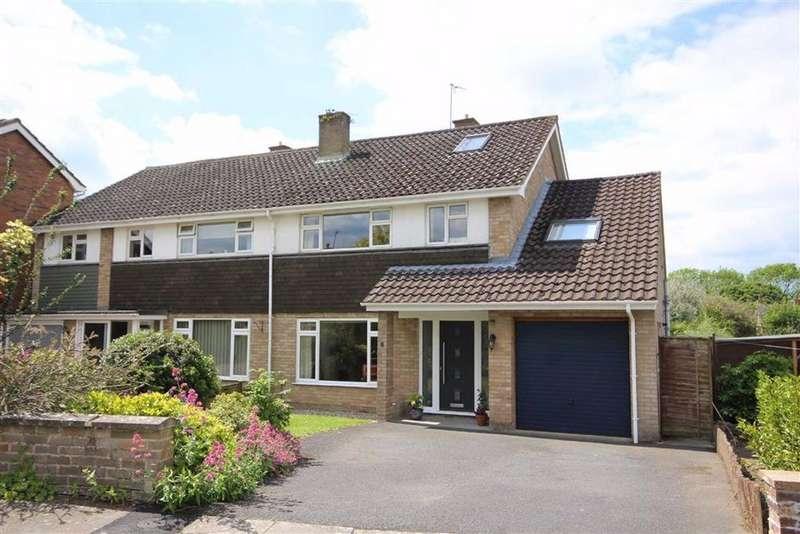 5 Bedrooms Semi Detached House for sale in Peregrine Road, Leckhampton, Cheltenham, GL53