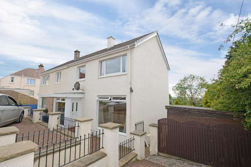 3 Bedrooms Semi Detached House for sale in 2 Sinclair Terrace, Largs, KA30 9HQ