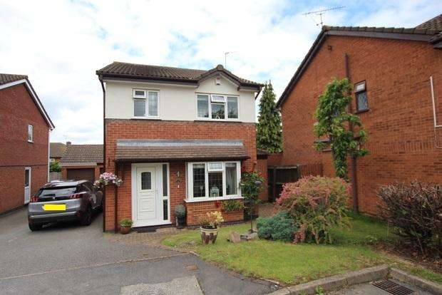 3 Bedrooms Detached House for sale in Trojan Way, Syston, Leicester, LE7