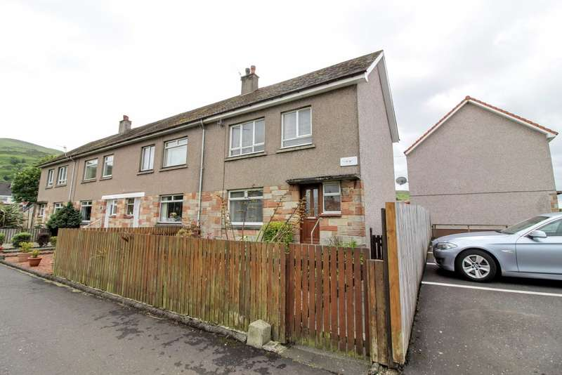 3 Bedrooms Terraced House for sale in Alexander Walk, Largs, KA30