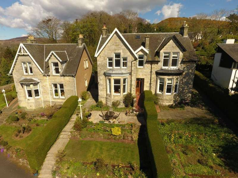 4 Bedrooms Semi Detached House for sale in Lawbrae, West Kilbride, North Ayrshire, KA23 9DD