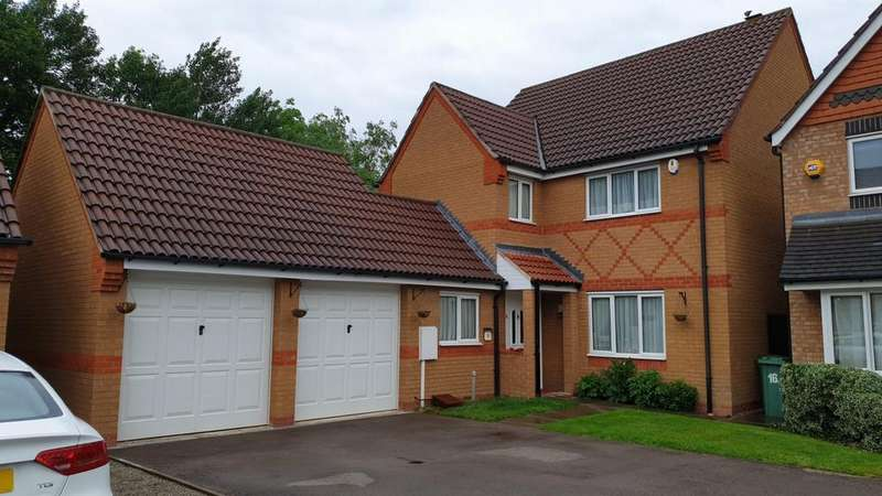 4 Bedrooms Detached House for sale in Vyner Close Thorpe Astley,braunstone Leicester