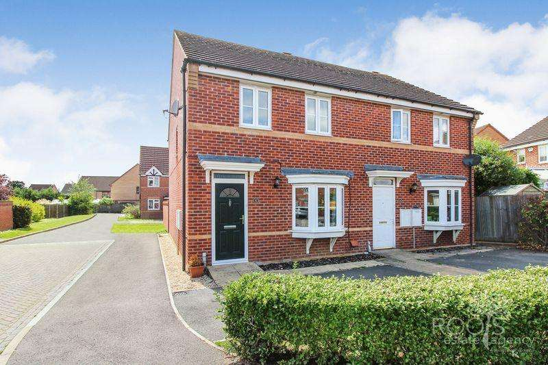 3 Bedrooms Semi Detached House for sale in Rosemary Gardens, Thatcham