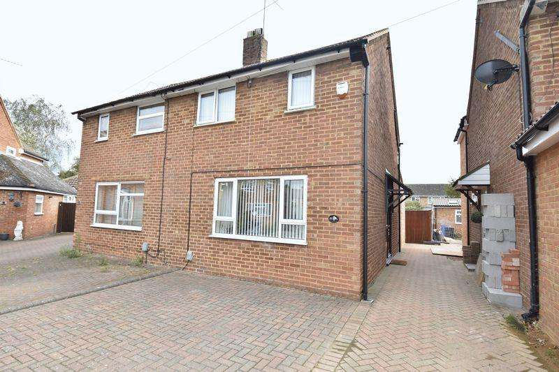 2 Bedrooms Semi Detached House for sale in Eastfield Close, Luton