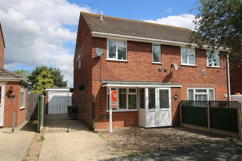 3 Bedrooms Semi Detached House for sale in Edmunds Road, Cranwell Village, Sleaford