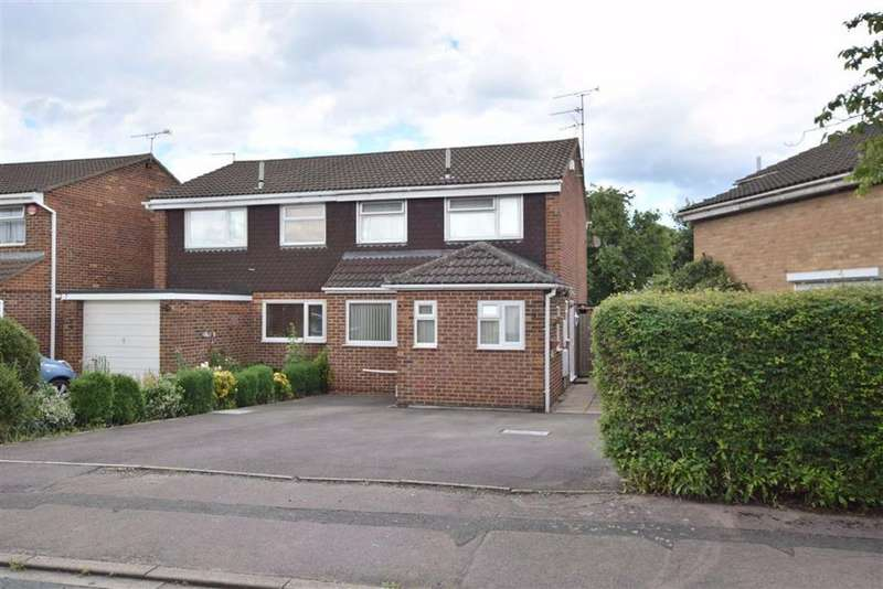 3 Bedrooms Semi Detached House for sale in Ashcroft Close, St Leonards Park, Gloucester