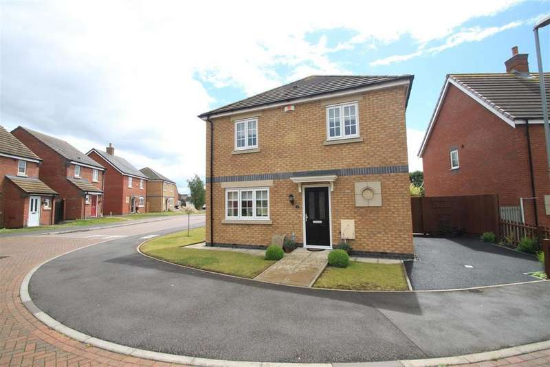 3 Bedrooms Detached House for sale in Mulberry Way, Hinckley