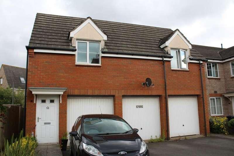 2 Bedrooms Flat for sale in Grosmont Way, Newport