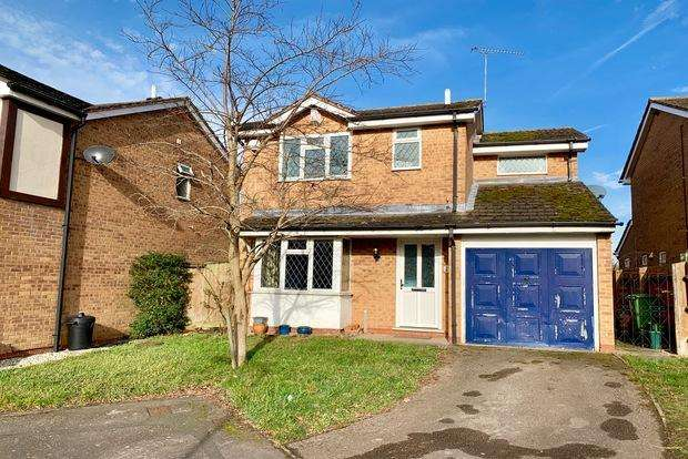 3 Bedrooms Detached House for sale in Grizedale Grove, Narborough, Leicester, LE19