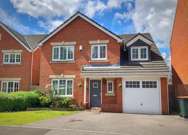 5 Bedrooms Detached House for sale in Pontymason Rise, Rogerstone, Newport