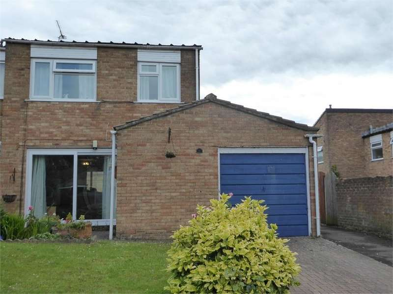 3 Bedrooms Semi Detached House for sale in Cedar Close, Chepstow