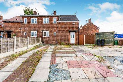 2 Bedrooms Semi Detached House for sale in Foliage Crescent, Brinnington, Stockport, Cheshire
