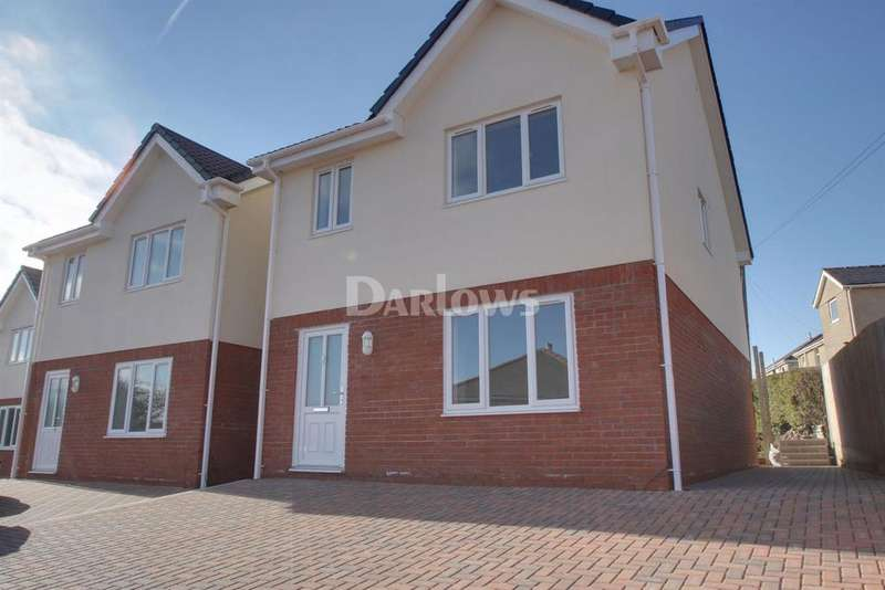 4 Bedrooms Detached House for sale in Alandale Mews, Rassau, Ebbw Vale, Blaenau Gwent