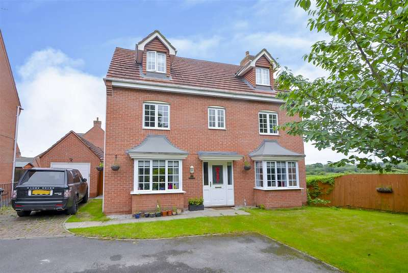 5 Bedrooms Detached House for sale in Derbyshire Drive, Castle Donington