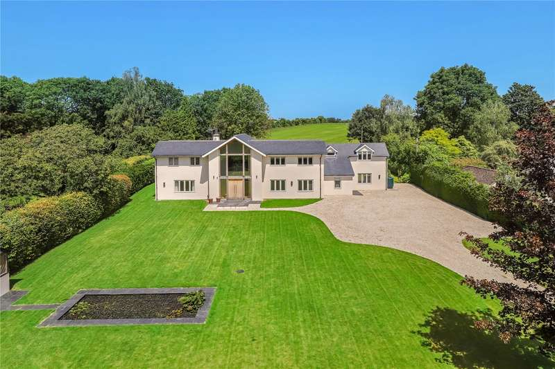 4 Bedrooms Detached House for sale in Rookery Lane, Broughton, Stockbridge, Hampshire, SO20