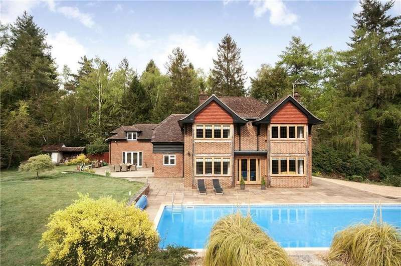 7 Bedrooms Detached House for sale in Straight Mile, Ampfield, Romsey, Hampshire, SO51