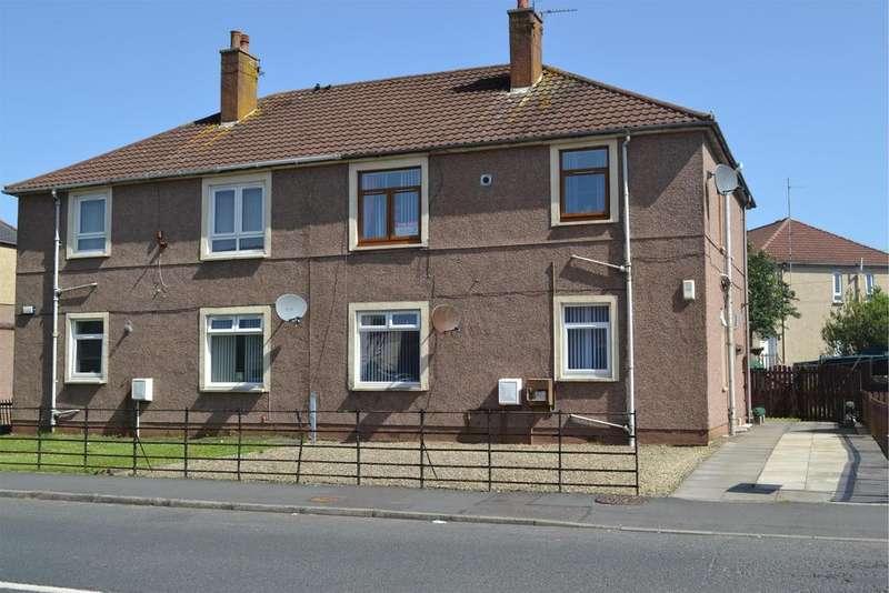 2 Bedrooms Ground Flat for sale in 6 Glencairn Street, STEVENSTON, KA20 3BZ
