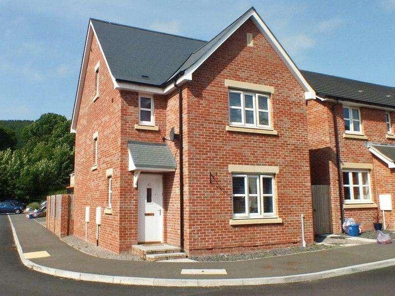 4 Bedrooms Detached House for sale in Ffordd Sain Ffwyst, Abergavenny