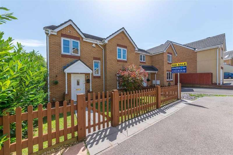 4 Bedrooms Detached House for sale in Churchwood, Griffithstown Pontypool
