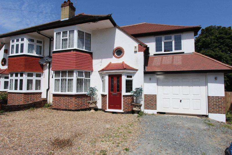4 Bedrooms Semi Detached House for sale in Northwood Road, Carshalton