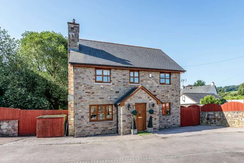 4 Bedrooms Detached House for sale in New Road, Whitecroft, Lydney