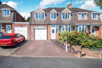 4 Bedrooms Semi Detached House for sale in Aversley Road, Kings Norton, Birmingham, West Midlands