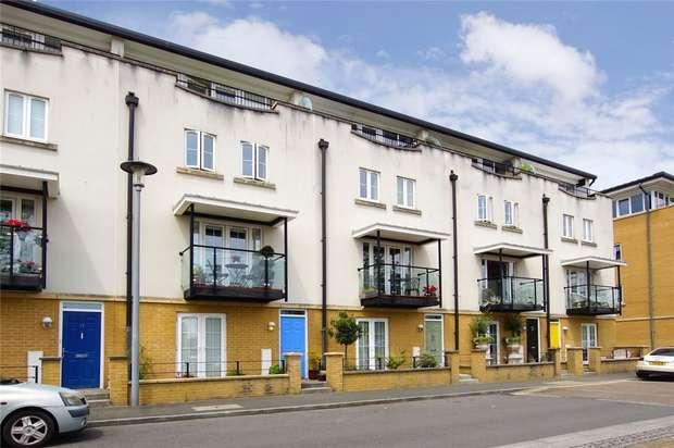 4 Bedrooms Terraced House for sale in Lockside, Portishead, Bristol