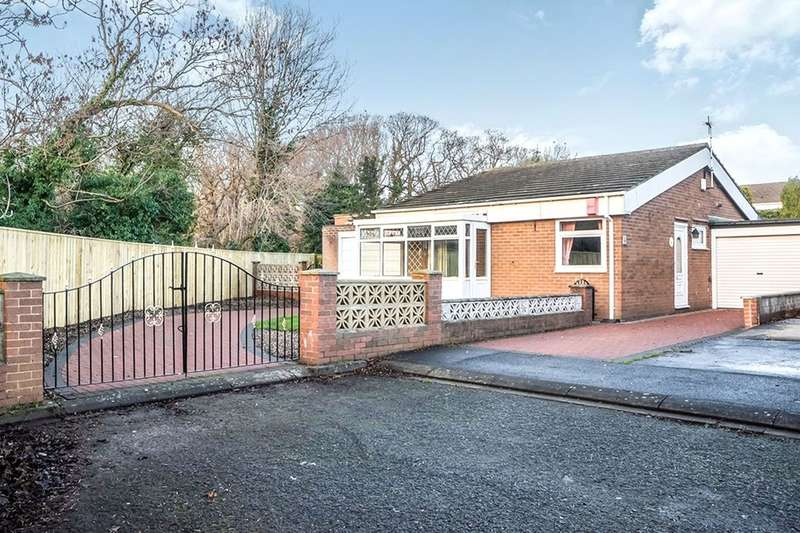 2 Bedrooms Detached Bungalow for sale in Overton Close, Dumpling Hall, Newcastle Upon Tyne, NE15